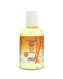 Purple Flame Energise Therapeutic Massage Oil 100ml