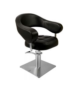 Lotus Corby Styling Chair Black Square Base