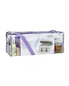 Satin Smooth Professional Double Wax Heater Starter Kit