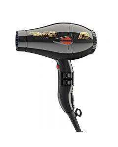 Parlux Advance Light Ionic + Ceramic Black Hairdryer (2200w)