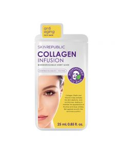 Skin Republic Collagen Infusion Face Mask Sheet 25ml Pack of 10