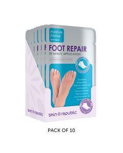 Skin Republic Foot Repair Mask 18g Pack of 10