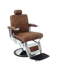 REM Viscount Barber Chair with Fabric Options