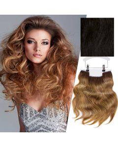 Balmain Clip-In Weft Memory Hair Dubai 45cm 1/3.4/5C.7C
