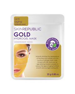 Skin Republic Gold Hydrogel Face Mask Sheet 25g Pack of 10