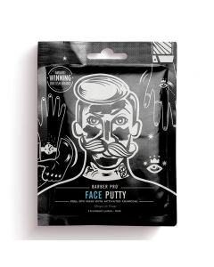 BARBER PRO Face Putty Black Peel-Off Mask 3 x 7ml
