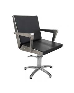 Lotus Arkin Black Styling Chair With Star Base