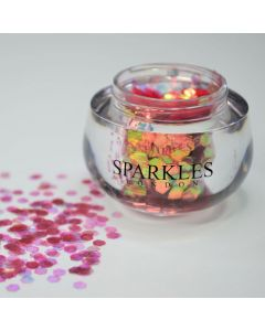 Sparkles London Mariah Big & Chunky Salmon Face Glitter