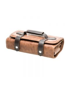 Head Jog Barbers Tool Roll Brown