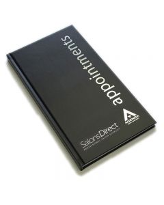 Salons Direct Appointment Book Black