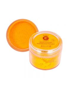 Amy G Neon Orange Fluorescent Powder 5g by The Edge