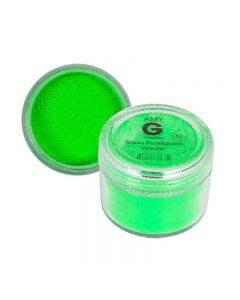 Amy G Green Fluorescent Powder 5g by The Edge