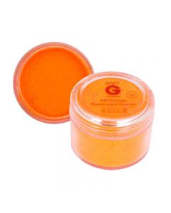 Amy G Hot Orange Fluorescent Powder 5g by The Edge