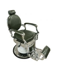 Lotus Gilmour Barber Chair Green
