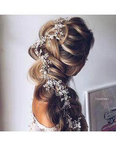 Ulyana Aster Maria Hair Accessory Silver