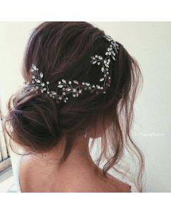 Ulyana Aster Alexa Hair Vine Silver