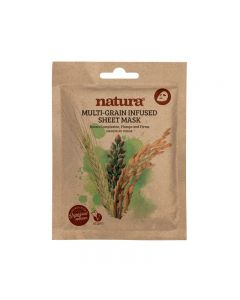 natura MULTIGRAIN INFUSED sheet mask 25ml