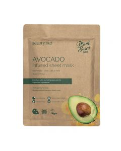 BeautyPro Plant Based AVOCADO INFUSED Sheet Mask 25ml