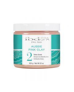 IBD Aussie Pink Clay Pro Pedi Scrub 22oz