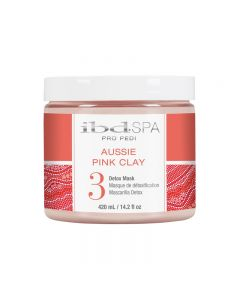 IBD Aussie Pink Clay Pro Pedi Mask 14.2oz