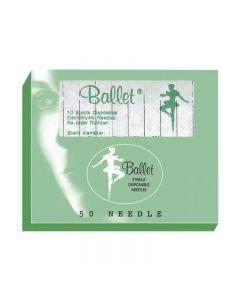 Ballet Stainless Steel Needles F6 006 (x50)