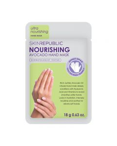 Skin Republic Hand Mask Nourishing Avocado 18g