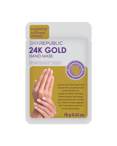 Skin Republic Hand Mask 24K Gold Foil 18g