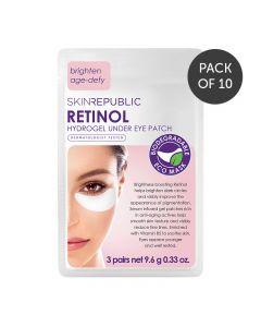 Skin Republic Retinol Under Eye Patch 3 Pairs 18g Pack of 10