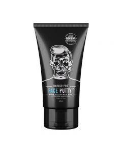 BARBER PRO Face Putty Black Peel-Off Mask 40ml Tube