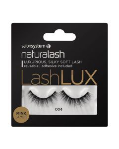Salon System Naturalash Lashlux 004 Black Mink Style Strip Lashes