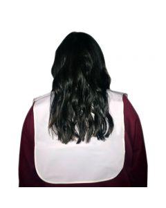 Hair Tools White Cutting Collar