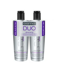 Osmo Silverising Shampoo + Conditioner Duo Pack 2 x 1 Litre
