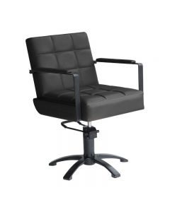 Lotus Westbury Black Styling Chair With 5 Star Base