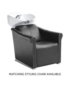 Lotus Chilton Black With Grey Piping Backwash Unit