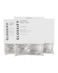 Glossify Classic Clear Nail Tips