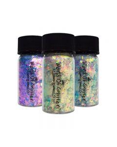 World of Glitter Nail Flakes