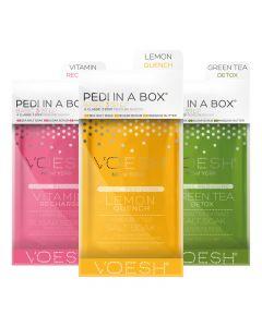 Voesh 3 Step Pedi In A Box Basic