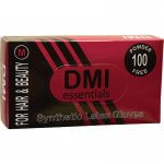 DMI Synthetic Latex Powder Free Gloves Medium 50 pairs