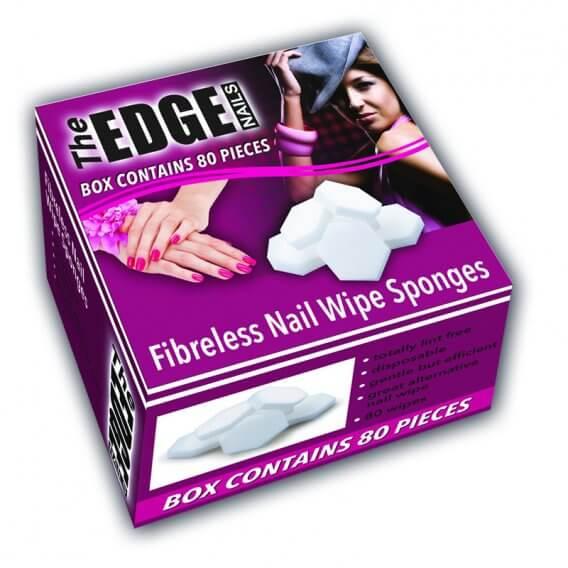 The Edge Lint Free Fibre-less Sponges (x80)