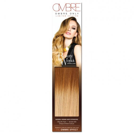 "Only Ombre Weft Hair Extensions 18"" By Beauty Works"