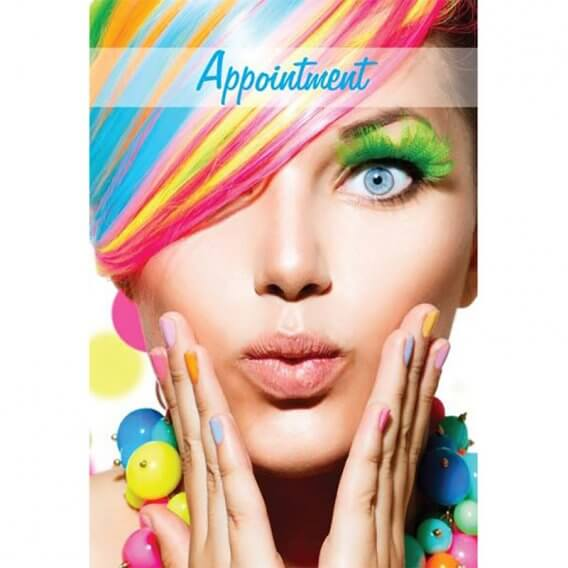 Rainbow Appointment Cards Pack of 100