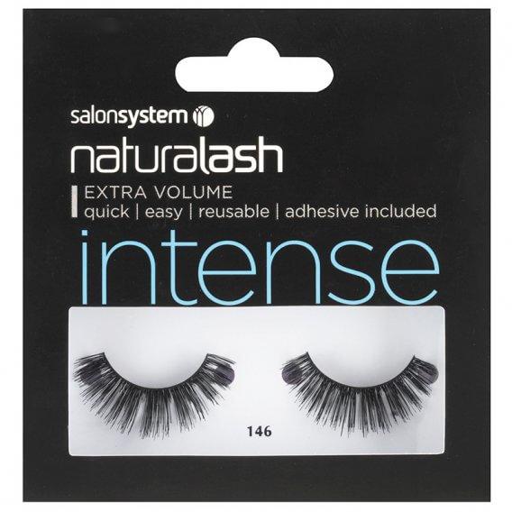 Salon System Naturalash 146 Intense Black Strip Lashes
