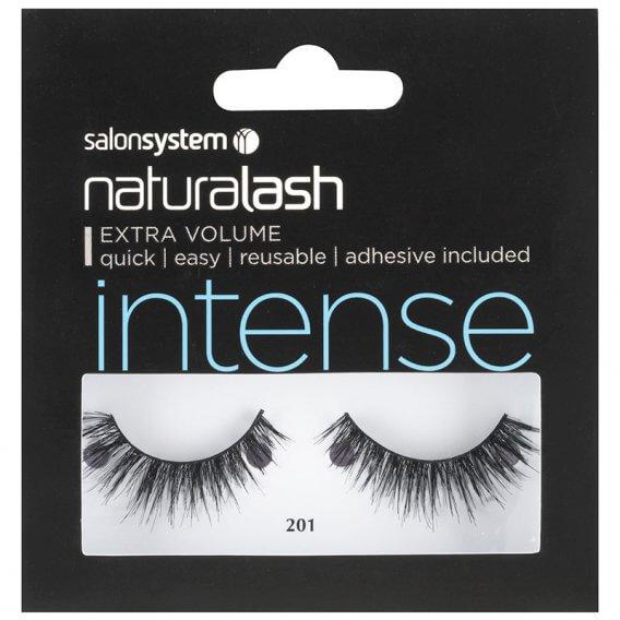 Salon System Naturalash 201 Intense Black Double Strip Lashes