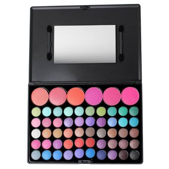 Crown Brush 56 Colour Fantasy Eye Shadow Palette