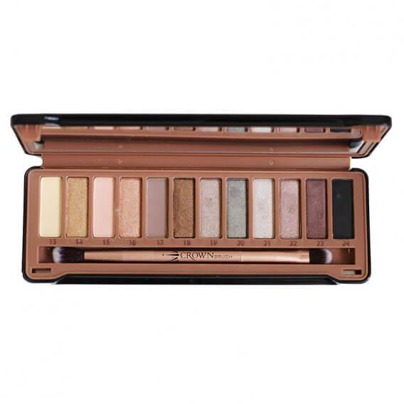 Crown Brush Pure Exposed Eyeshadow Palette