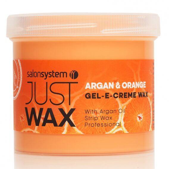 Just Wax Gel-E-Creme Argan & Orange 425g