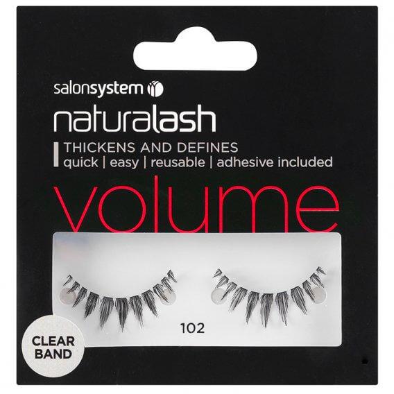 Salon System Naturalash 102 Black Strip Lashes