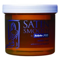 Satin Smooth Honey Wax with Arnica + Vitamin E 450g by BaByliss Pro