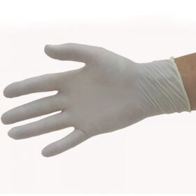 Pro Natural Latex Disposable Gloves x 50 Pairs Small