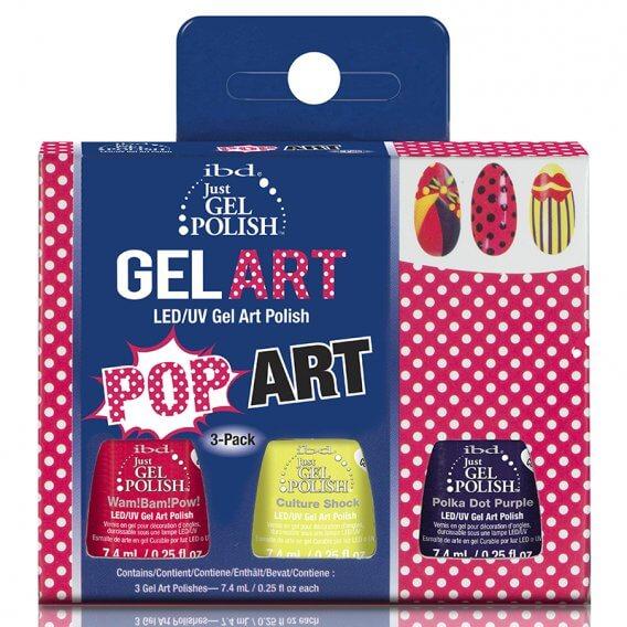 IBD Just Gel Polish Pop Art Kit